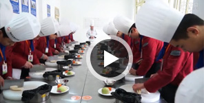 <b>西安新纪元烹饪学校标准化课堂之――刀工课堂</b>