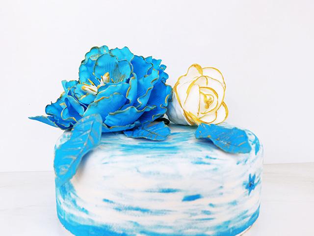翻糖蛋糕展示