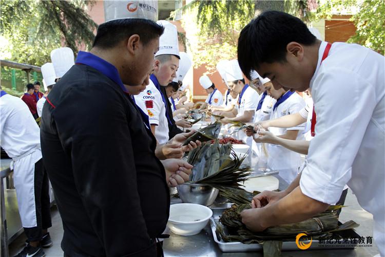 2017端午包粽子