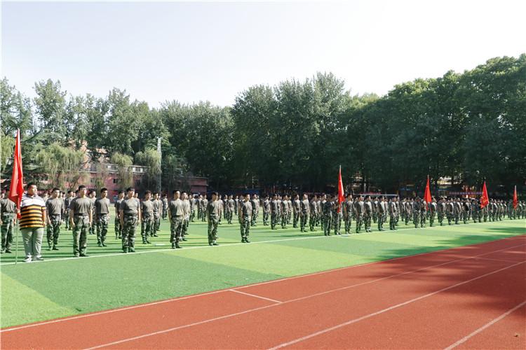2017新生军训