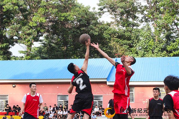 2018新纪元杯篮球比赛