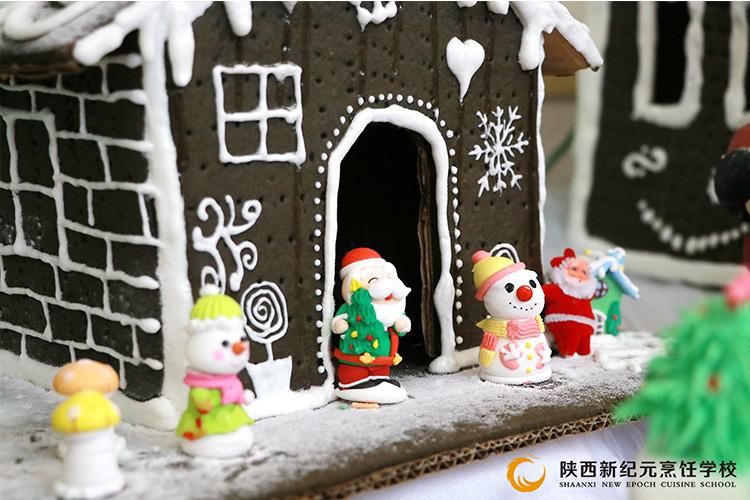 圣诞节西点展_陕西新纪元烹饪学校