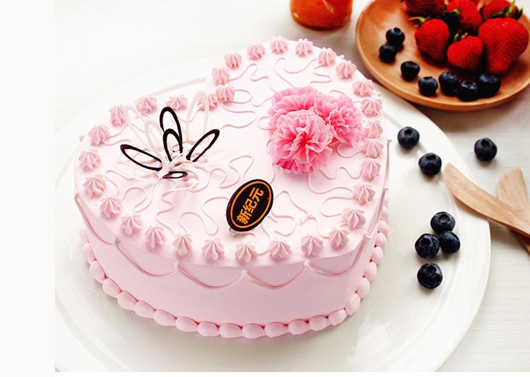 裱花蛋糕展示