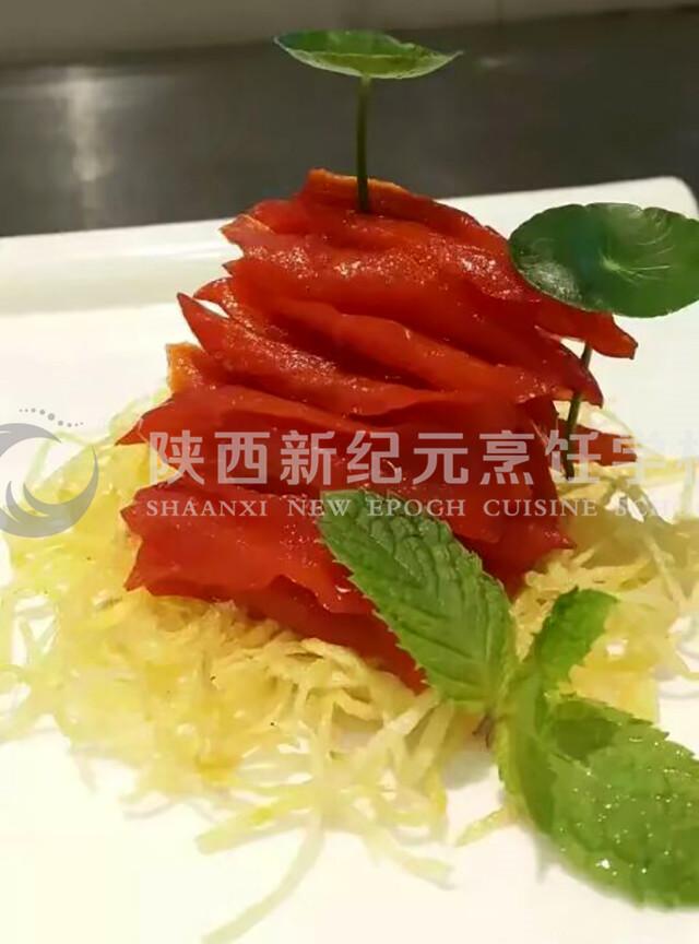 凉菜作品_陕西新纪元烹饪学校