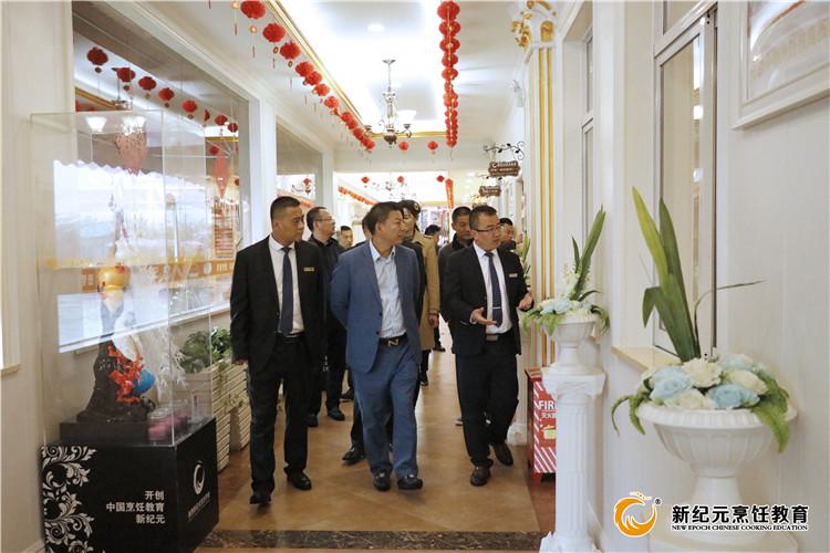上海美豪酒店集团来校参观