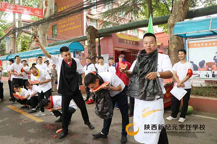 2019年缤纷水果节_陕西新纪元烹饪学校